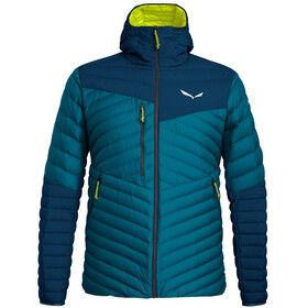 SALEWA Ortles Light 2 Hooded Down Jacket Men poseidon
